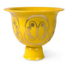Persephone Bowl - I love this Jonathan Adler pedestal bowl. Not only would it make a great mantel statement, it would also work for serving ...
