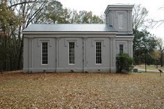 Located in Claiborne County Mississippi, near the town of Port Gibson. Bethel Presbyterian was founded in 1826. The congregation built this Greek Revival structure in 1843.