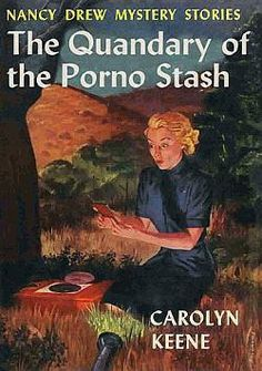 The earlier titles played on the theme of a female discovering something they weren't supposed to.