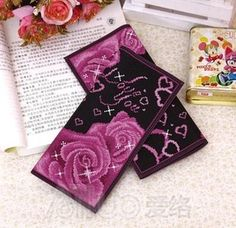 Mohini cross stitch wallet long design women flowers and plants series clipping ladies fashion purse