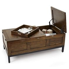 Tucker Trunk in Coffee Tables & Side Tables | Crate and Barrel