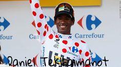 Polka dot jersey, Tour de France 2015. King of the mountain