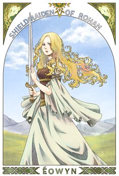 "White Lady by 2NaCl.deviantart.com on @deviantART - From ""The Lord of the Rings""."