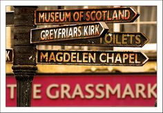 Edinburgh signs