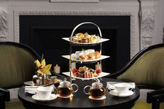 Royal or Traditional Tea Service for Two at Two E Bar/Lounge at Five-Star Rated The Pierre, A Taj Hotel Coffee Macaroons, Vegan Teas, Pierre Hotel, Balsamic Onions, Tea Lounge, Chocolate Crunch, Chicken Spices, Tea Sandwiches, Gourmet