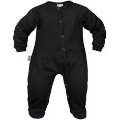 Pyjama bébé noir - Vêtements noirs unis - Family In Black