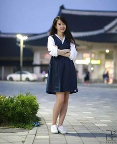 Modern Hanbok by Leesle (via twitter: @ p__fashion)