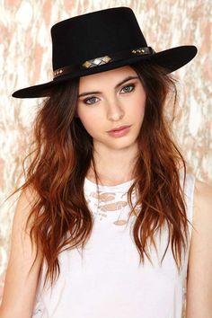 Vintage West End Girl Hat