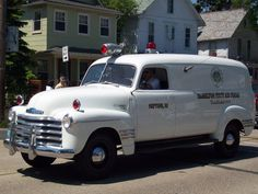 old ambulence photos | OLD CHEVY AMBULANCE by AckBo