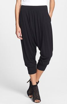 Eileen Fisher Pleated Harem Pants available at #Nordstrom, would be great made up in a fluid knit