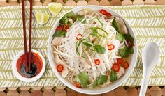 Vietnamese Chicken Noodle Soup - In the Kitchen with Stefano Faita