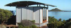Ecoshelta cabin exterior