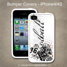 FootBall- I Phone 4, 4s Bumper Cover