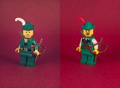 #LEGO antes y después