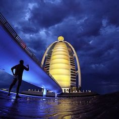 Traveling is about finding different perspectives. Other contrasts. New reasons to put on your exploring shoes and wait for the sun to set. Because on a good night, you could catch the world's most luxurious hotel off-guard. And then you'd wonder why you'd never been here before. Our #TravelGram of the day: The #BurjAlArab captured by @a_alfahim.