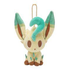 Pokemon Center Original Mascot Plush Stuffed Doll Pokemon Time Leafeon Leafia