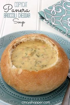 CopyCat Panera Broccoli Cheddar Soup Recipe MADE 11/19/14 - this is the best thing ever. Srsly. MADE AGAIN 1/10/15 - this time used cauliflower instead, per request. Good, but not great like it is with broccoli. Going back to good 'ol brocc next time.