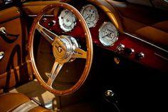 Porsche 356 Cabriolet Interior #porsche