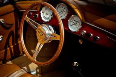 Porsche 356 Cabriolet Interior