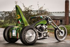 Andreas Friedrich's Time Machine |Trike | Street Chopper