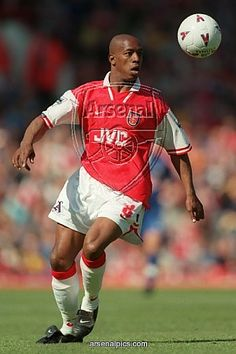 Does anyone else find it strange that all these pictures have the same ball? Ian Wright, Arsenal Fc, Big Bang Theory, No One Loves Me, Newcastle, First Love, Legends, Soccer, Hero