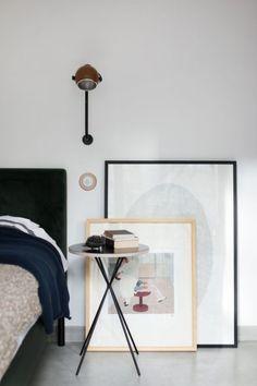 slaapkamer met vintage meubels moderne slaapkamer met vintage meubels ...