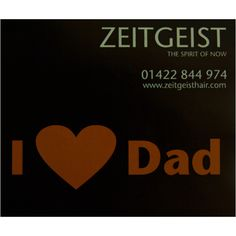 Amy Fathers Day Offer  Take a look a www.zeitgeisthair.com