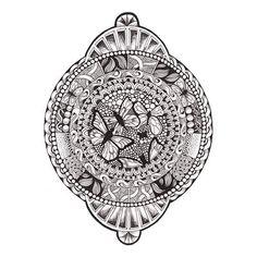 Butterfly Mandala  #Doodle #art #artist #artistic #pattern  #arty #illustration #picture #Mandala #mandalamaze #beautiful_mandalas #pen #penandink #art_we_inspire #creative #creative_instaarts #penfreaks #zendala #zentangle #zendoodle #circle #sketch_daily #sketchbook #butterfly #technical #draw #drawing #blackandwhite
