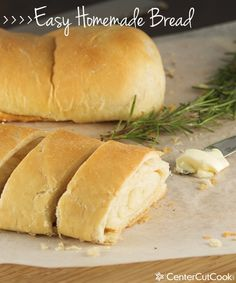 Easy Homemade Bread- step-by-step pictures for easy and delicious bread.