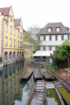 A fairy tale weekend in Alsace, France. Read all about it (google translate) - in the pic the beautiful Colmar