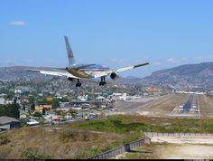 One of aviations most iconic approaches. Welcome to Tegucigalpa.