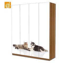 """Cani e Gatti insieme sul tuo armadio Ikea Pax.  www.decorailtuoarmadio.com Li trovi nella categoria """"Animali"""""""