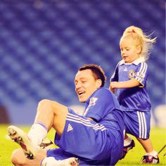 John Terry and Summer.