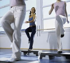 Step aerobics is a form of aerobic exercise distinguished from other types of aerobic exercise by its use of an elevated platform (the step).
