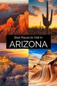 26 Amazing Places to See in Arizona (+ Map & How to Visit) American National Parks, National Parks Usa, Beautiful Places To Visit, Cool Places To Visit, Amazing Places, North America Destinations, Visit Usa, Usa Travel Guide, Mexico Travel