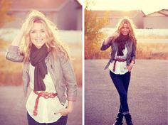 great layered look