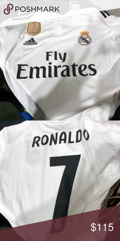 9b4defb7c I have a brand new Cristiano Ronaldo Real Madrid jersey. Bought in Madrid