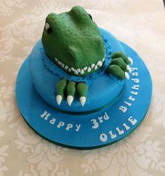 T'Rex cake