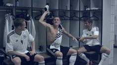 adidas Fußball - DFB Kampagne. schneller ins trikot.