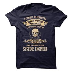 #aerosmith... Awesome T-shirts  Proud Be A Systems Engineer . (LaGia-Tshirts)  Design Description: Are You A Systems Engineer ! This Shirts For You.  ***If you dont absolutely love our design, just SEARCH your favorite one by using search bar on the header. **** TIP.... Check more at http://lamgiautudau.com/automotive/best-discount-proud-be-a-systems-engineer-lagia-tshirts.html