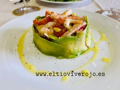 Timbal de gambas y aguacate – El tiovivo rojo Curry, Asparagus, Cabbage, Salads, Vegetables, Salsa Chicken, Appetizers, Meals, Cooking Recipes