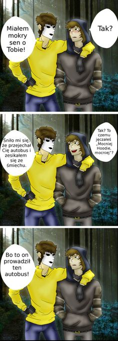 Creepypasta Ticci Toby and Masky 2 by PL Very Funny Memes, Wtf Funny, Creepypasta Ticci Toby, My Love Story, Jeff The Killer, Love My Family, Reaction Pictures, Funny Photos, Anime Meme