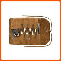 Small Tool Roll Handmade by Hide & Drink :: Swayze Suede - Fun stuff and gift ideas (*Amazon Partner-Link)