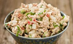 Canned Tuna Salad Recipes is One Of Beloved Salad Of Several Persons Round the World. Besides Simple to Produce and Great Taste, This Canned Tuna Salad Recipes Also Health Indeed. Low Carb Menus, Low Carb Diet, Fish Recipes, Salad Recipes, Healthy Recipes, Healthy Menu, Healthy Foods, Delicious Recipes, Cooking