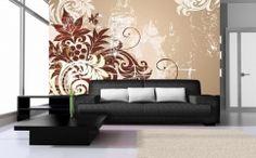 idei de amenajare cu fototapet flori abstract Disney, Couch, Flooring, Abstract, Design, Furniture, Home Decor, Summary, Settee