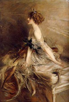 Princess Marthe-lucile Bibesco by Giovanni Boldini