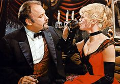 Rod Steiger and Julie Christie - 'Doctor Zhivago' (1965). The film is set during the Russian Revolution.