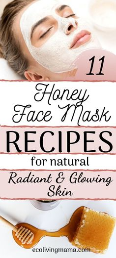 Honey makes an amazing DIY facial mask, and these 11 recipes cover all the bases. Homemade face masks with honey, avocado, manuka honey, lemon, yogurt, clay, and lots of other options for dry, oily, combination or aging skin. Honey is also a great natural acne treatment and makes a wonderful anti-aging face mask. Easy DIY beauty recipes perfect for a relaxing spa day at home