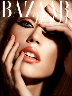 Val Garland for Harper Bazaar. Learn directly from Val on this online course and get the inside track on how to get ahead as a make-up artist in the fashion industry >> https://www.mastered.com/course-listings/the-val-garland-school-of-make-up/overview?utm_source=Pinterest&utm_medium=Pins&utm_campaign=Val