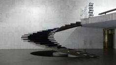 Almost Floating staircase so cool